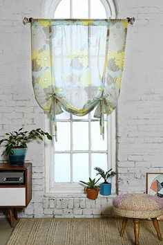 Plum & Bow Surf Flower Drape Shade - Urban Outfitters