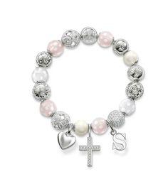 Thomas Sabo Karma beads: love/sun/pearl/rose quartz/hearts