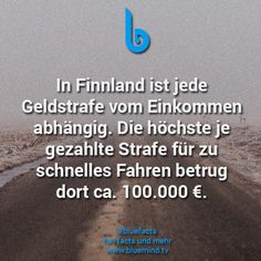 #bluefacts #fakten #finnland #skandinavien #schweden #fakt I Need To Know, Did You Know, Car Facts, Wedding Picture Poses, Einstein, Real Life, Knowledge, Lol, Funny