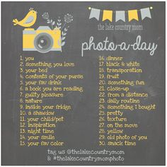 Photo-a-Day Challenge | The Lake Country Mom