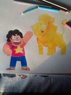 Steven e Leão