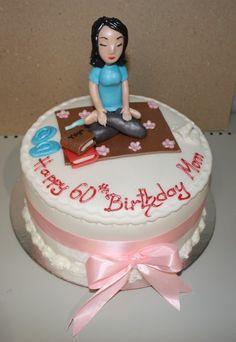 Yoga Themed Birthday Cakes Cake Flickr