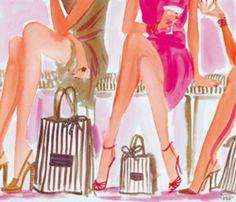 Love Kate Spade, darling illustration