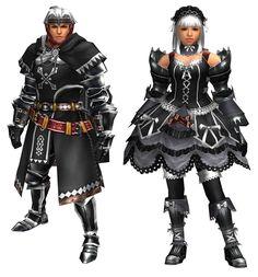Hantazugirudo Armor - Black - Characters & Art - Monster Hunter ...