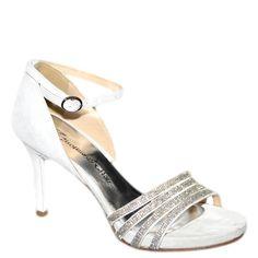 #Sandalo gioiello in camoscio ghiaccio di #emanuelapasseri  http://www.tentazioneshop.it/scarpe-emanuela-passeri/sandalo-4022-bianco-emanuela-passeri.html