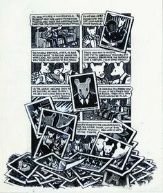 Art Spiegelman Maus Art Spiegelman, Night Club, Hand Drawn, How To Draw Hands, Novels, Illustration Art, Cartoons, Comics, Words