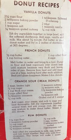 Next Post Previous Post Drop Donut Maker Recipes Next Post Previous Post Donut Recipe No Yeast, Old Donuts Recipe, Fun Baking Recipes, Donut Recipes, Sweet Recipes, Dessert Recipes, Baked Donuts, Doughnuts, Sweets