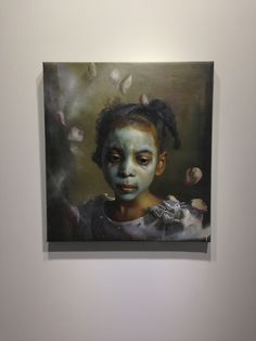 """best of show: margaret bowland's """"disturbing the peace"""" at driscoll babcock gallery"""