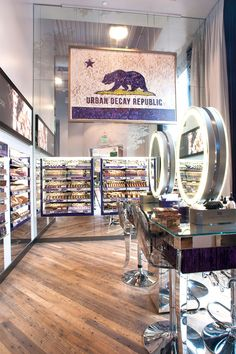Sneak A Peek Inside The New Urban Decay Store #refinery29  #experience #retail
