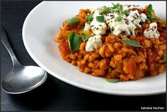Barley Risotto with Marinated Feta by Yotam Ottolenghi - need caraway seeds