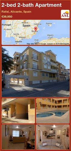 2-bed 2-bath Apartment in Rafal, Alicante, Spain ►€39,950 #PropertyForSaleInSpain
