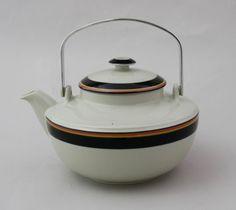 Arabia,teekannu, Reimari, Inkeri Leivo. Kettle, Finland, Tea Pots, Kitchen Appliances, Tableware, Vintage, Diy Kitchen Appliances, Tea Pot, Home Appliances