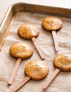 Peanut Butter & Jelly pie sticks.