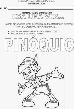109 best pinÓquio images on pinterest early education coloring
