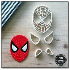 Cookie Cutter 3D Spiderman / Set fondant