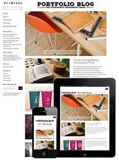 Portfolio Blog Responsive WordPress