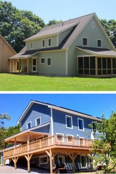 Two Passivhaus projects in Maine