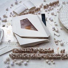Architectural Model - Multifunctional Sports and Event Centre - Behnisch Architekten
