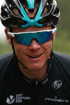 #TDF2016 Great Britain's Christopher Froome smiles as he rides during the 2375 km fouth stage of the 103rd edition of the Tour de France cycling race on July...