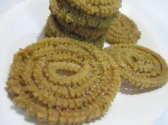 Butter Murukku / Chakali | http://spicycookery.com/butter-murukku-chakali-easy-butter-murukku