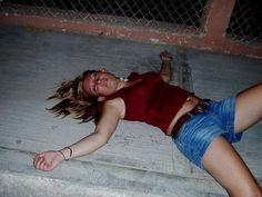 Hot drunk teen action