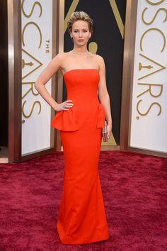 #oscar2014 - Jennifer Lawrence | Dior