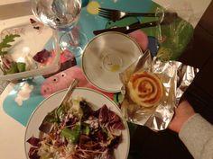 "Day2. 10.10.'14 Bis. Repeat again the same> Co ""Le calde merende @F. #dinner"" Base flavour. 9.10 8PM (1×50gr.147k.6,7/3,8fat.13carb./0,9sugar.0,7fiber.8,7protein precisely from the confection) #similpastries#justcook#whiteandred 50÷ #pasta lievitata pomodoro e mozzarella thin tomato and cheese #pasticcio#roll#bonbon#ball ripiena farcita a scelta personale #pizza #babypizza #baby #mini personalizables #pizzasimiliar #frument 00 #salt #tipycalfastfoodchoice . Yours? & #mixedsalad raw pkus…"