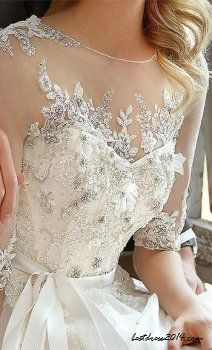 vintage wedding dress vintage wedding dresses-- normally don't pin wedding dresses, but i really like this top detail in general.