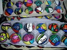 Center School Art: Golf Ball Art!