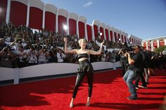 Miley Cyrus at the 2014 MTV Video Music Awards in Inglewood, Calif., on Aug. 24, 2014.