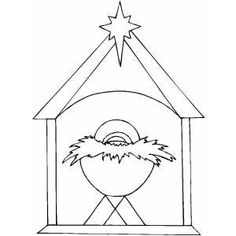 30 Best Nativity Coloring Pages Images On Pinterest Xmas Nativity
