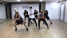 BTS 'Danger' mirrored Dance Practice /// DANG