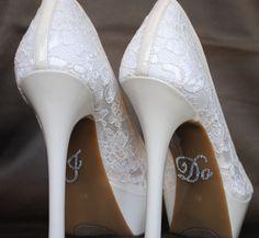 90e637d6 I Do Shoe Stickers Zapatos Personalizados, Accesorios Para Novias,  Zapatillas, Sandalias, Personalizar