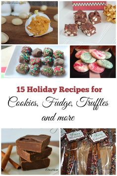 15 Holiday Dessert Recipes for Cookies, Fudge, Truffles & More | 5DollarDinners.com