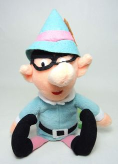 """Cute elf from the Rudolph movie - they really do have toys for all the characters! 8"""""""