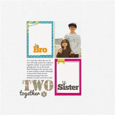 """""""Together"""" by Tania, as seen in the Club CK Idea Galleries. #scrapbook #scrapbooking #creatingkeepsakes"""