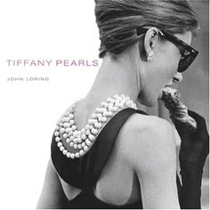 pearl necklace, Audrey Hepburn, black Givenchy dress...Breakfast at Tiffany's..favorite movie, fav actress and fav pearls