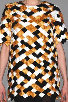 Stampe e patterns dalla New York Fashion Week (collezioni donna autunno/inverno 2013/14).  Ivana Helsinki.