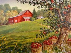 apples and barns
