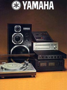 retroaudiophiledesigns: Vintage - Yamaha Check out these. Yamaha Speakers, Yamaha Audio, Hifi Audio, Stereo Speakers, Yamaha Hi Fi, Audio Room, Retro, Tape Recorder, Music Images