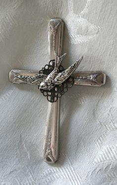 silverware cross
