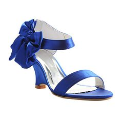 Women's Shoes Ankle Strap Wedege Heel Sandals Wedding Shoes More Colors available – USD $ 39.99