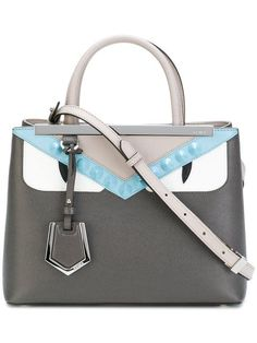 FENDI Small 2Jours Tote. #fendi #bags #shoulder bags #hand bags #leather #tote #