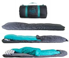 A Sleeping Bag that give you the comfort of your own bed  , - ,   A sleeping bag t...