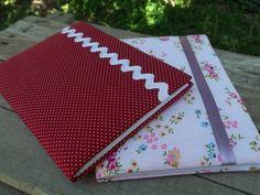 Cadernos Decorados em Tecido                                                                                                                                                     Mais