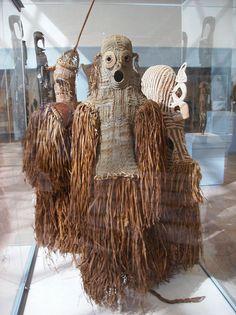 Body Mask (det) (Asmat: Papua New Guinea)