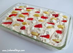 Fun Home Things: Strawberry Cheesecake Salad
