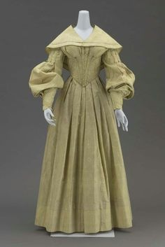 Wedding Dress and Cape 1839 The Museum of Fine Arts, Boston