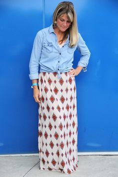 How to Make a Maxi Skirt | eHow