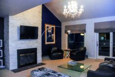 Condo interior design and remodel completed by TVL Creative